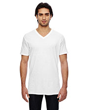 Anvil 352 Men Featherweight short sleeve VNeck TShirt at GotApparel