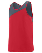 Augusta 353 Boys Sleeveless Accelerate Jersey at GotApparel