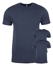 Next Level 3600 Men Premium Fitted Short-Sleeve Crew 3-Pack at GotApparel