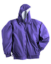 Tri-Mountain 3600 Men BayWatch Nylon Hooded Jacket With Jersey Lining at GotApparel