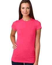 LAT 3605 Women Vintage Jersey Longer Length T-Shirt at GotApparel