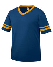 Augusta 360 Men Sleeve Stripe Jersey T-Shirt at GotApparel