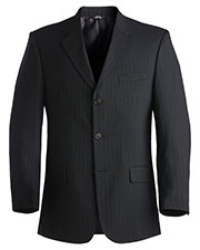 Edwards 3660 Men Pinstripe Suit Coat at GotApparel
