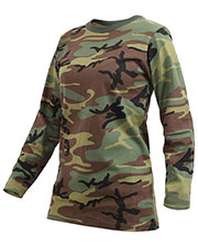 Rothco 3678 Women Womens Long Sleeve Camo T-Shirt at GotApparel