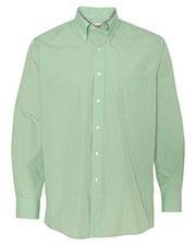 Van Heusen 13V0225 Men Gingham Check Shirt at GotApparel