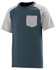 Augusta 367 Men Rockin IT Pocket Short Sleeve Tee at GotApparel