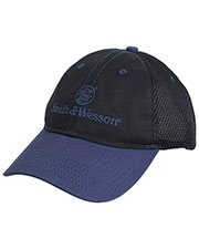 Rothco 3721 Men Smith & Wesson Mesh Back Logo Cap at GotApparel