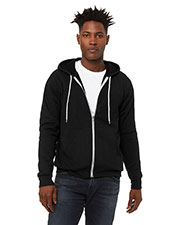 Bella + Canvas 3739 Unisex Sponge Fleece Full-Zip Hoodie at GotApparel