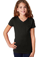 Next Level 3740 Girls The Adorable V T-Shirt at GotApparel