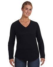 LAT 3761 Women V-Neck Pullover at GotApparel