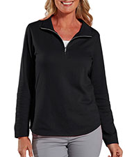 LAT 3764 Women Quarter-Zip Pullover at GotApparel