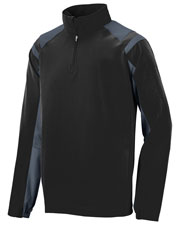 Augusta 3792 Men Long Sleeve Doppler Pullover Water Resistant at GotApparel