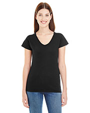 Anvil 380VL  Lightweight Ladies' Fitted V-Neck Tee at GotApparel