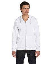 Bella + Canvas 3909 Unisex Tri blend Sponge Fleece Full-Zip Hoodie at GotApparel