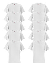 Fruit Of The Loom 3931B Boys 5 Oz. 100% Heavy Cotton Hd T-Shirt 10-Pack at GotApparel