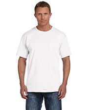 Fruit of the Loom 3931P Men's 5 oz., 100% Heavy Cotton HD Pocket T-Shirt at GotApparel