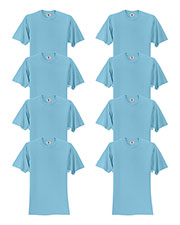 Fruit Of The Loom 3931 Men 5 Oz. 100% Heavy Cotton Hd T-Shirt 8-Pack at GotApparel