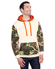 Code V 3967 Men Fashion Camo Hooded Sweatshirt at GotApparel