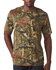 Code V 3970 Adult Mossy Oak; Camouflage T-Shirt at GotApparel