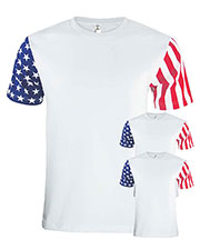 Code V 3976 Men Stars & Stripes T-Shirt 3-Pack at GotApparel