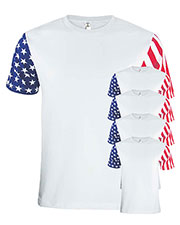 Code V 3976 Men Stars & Stripes T-Shirt 5-Pack at GotApparel