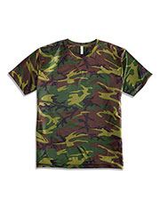 Code V 3983 Adult Performance Camouflage Short Sleeve T-Shirt at GotApparel