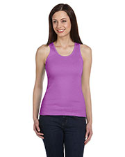Bella + Canvas 4000 Women 2x1 Rib Tank at GotApparel