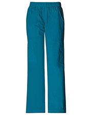 Cherokee Workwear 4005P Women Mid Rise Pull-On Pant Cargo  at GotApparel