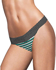 Maidenform 40118 Women One Size All Lace Thong at GotApparel