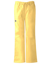 Cherokee Workwear 4020P Women Low Rise Drawstring Cargo Pant at GotApparel