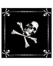 Rothco 4030 Adult Jolly Roger Bandana at GotApparel