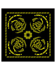 Rothco 4032  Don't Tread On Me Bandana at GotApparel