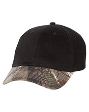 Kati Lc25  Solid Crown Camouflage Cap at GotApparel