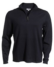 Edwards 4072 Unisex Quarter-Zip Lightweight Fine Gauge Sweater at GotApparel