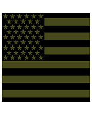 Rothco 4073 Men Subdued Us Flag Bandana at GotApparel