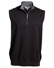 Edwards 4074 Unisex Quarter Zip Vest at GotApparel