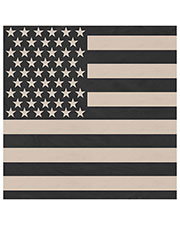 Rothco 4074 Men Subdued Us Flag Bandana at GotApparel