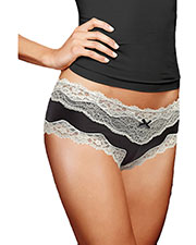 Maidenform 40823 Women Cheeky Lace Hipster at GotApparel