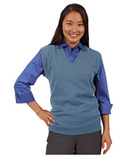 Edwards 4092 Unisex Fine Gauge V-Neck Sweater at GotApparel