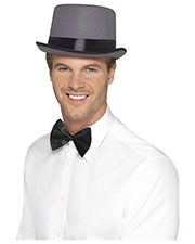 Smiffys 41577 Unisex Top Hat, Grey at GotApparel