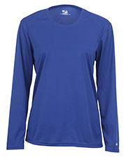Badger Sportswear 4164 Women Comfort Long-Sleeve T-Shirt at GotApparel