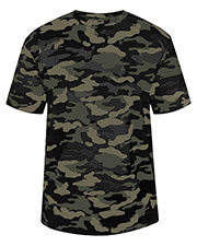 Badger 4181 Men Camo Tee at GotApparel