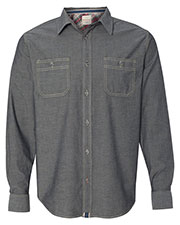 Weatherproof 154885  Vintage Chambray Long Sleeve Shirt at GotApparel