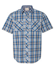 Weatherproof 154620  Vintage Plaid Short Sleeve Shirt at GotApparel