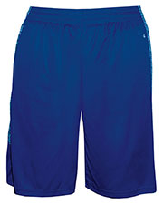 Badger 4195 Men Blend-Panel Shorts at GotApparel