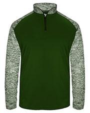 Badger 4197 Men Blend Sport Quarter-Zip Pullover at GotApparel