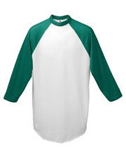Augusta 420 Men Baseball Jersey T-Shirt at GotApparel