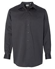 Calvin Klein 13CK033 Men Non-Iron Micro Pincord Long Sleeve Shirt at GotApparel