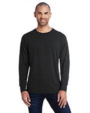 Hanes 42L0 Men 4.5 oz., 60/40 Ringspun Cotton/Polyester X-Temp® Long-Sleeve T-Shirt at GotApparel