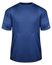 Badger 4320 Men Pro Heather Short-Sleeve Tee at GotApparel